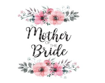 Mother of the Bride Clipart, Father of the Bride Sublimation Designs, Adult Clipart, Clipart Graphics, Commercial Clipart, Scrapbooking