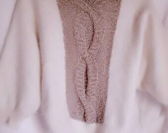 Angora sweater