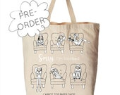 PRE-ORDER: Sorry I'm Booked Tote - Canvas Tote - Library Tote Bag