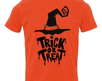 Kids Trick or Treat Witch shirt / Disney Shirt / Hocus Pocus / Kids Halloween shirt