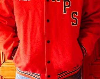 70's Teddy Jacket (varsity jacket / Letterman jacket)