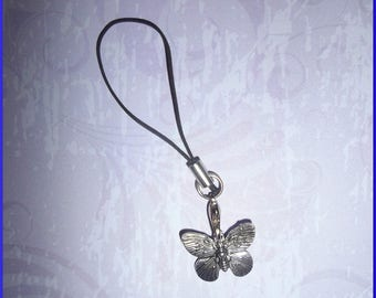 portable metal Butterfly charm