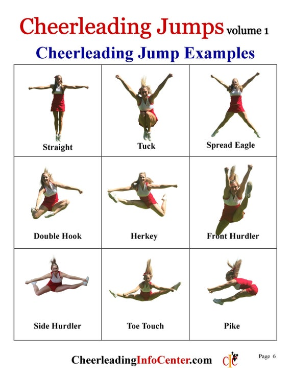 Cheerleading jumps ebook cheerleading coach cheerleading cheerleading jumps ebook cheerleading coach cheerleading mom cheer coach cheerleading gift cheerleader gift cheerleading bow fandeluxe PDF