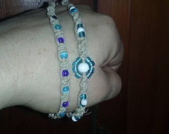 Button on bracelets
