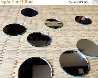 10% OFF Round Mirrors, Craft Mirrors, 38mm Mirrors, Mirror Embellishments, Glass Mirrors