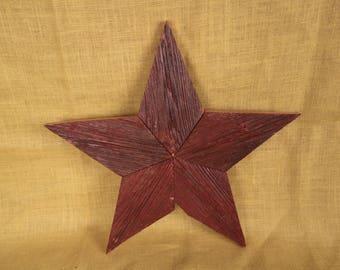Rustic Barnwood Star