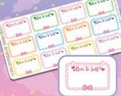 Biggie Note to Self || Planner Stickers, Cute Stickers for Erin Condren (ECLP), Filofax, Kikki K, Etc. || BSS42