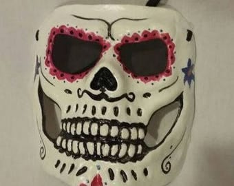 Day of the Dead Sugar Mask