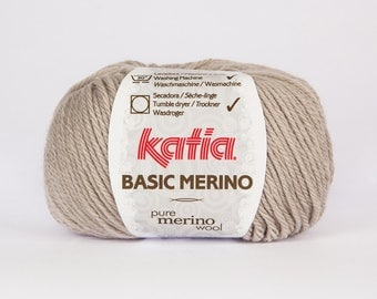 Katia Basic 9 color Merino Wool.