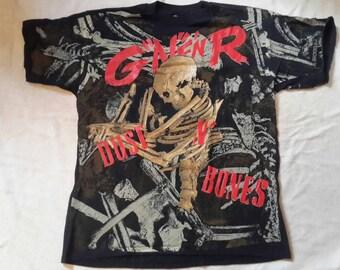 Original Vintage 90s  Guns N Roses T Shirt. Wild Oats . Rare