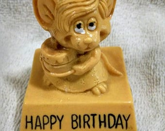 Happy Birthday Wallace Berrie Figure