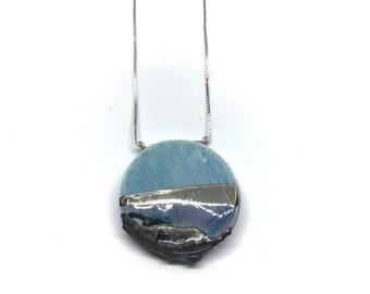 Round ceramic pendant, Trsmonto Pugliese