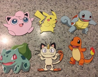 Pokemon Cut-Outs