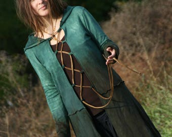 Forest Elf coat lace-up