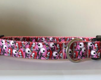 Jack and Sally 1 inch Collar