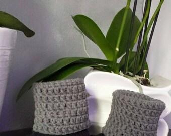 warm crochet slippers