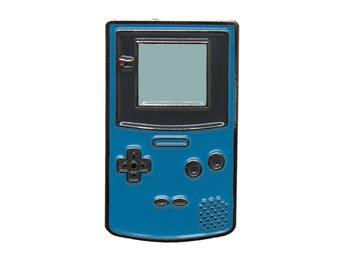 Teal Gameboy Color Pin