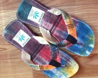 Colorful Pure Hemp Eco Friendly Sandals