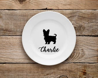 Yorkshire Terrier Decorative Plate