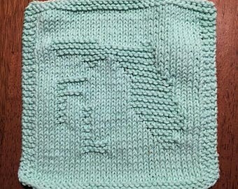 Knitted State Dishcloths - Cotton Dishcloths