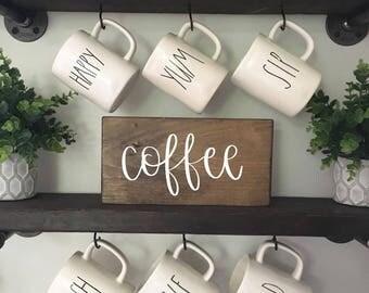 Coffee - Wood Sign