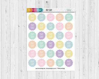 PayDay Planner Stickers (17222-02)