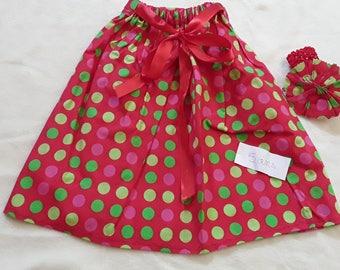 Skirt and headband 5 years