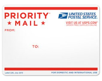 PRIORITY 2 DAY Shipping