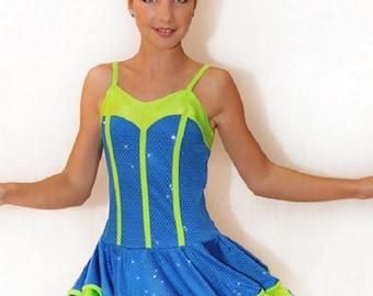 Dance cheerleader costume