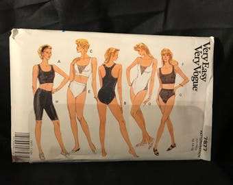 Very easy Vogue Misses size.12/14/16 top,panties,shorts & bodysuit
