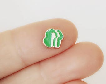 Girl Scouts Floating Charms / Memory Locket Charms / Small GS Logo