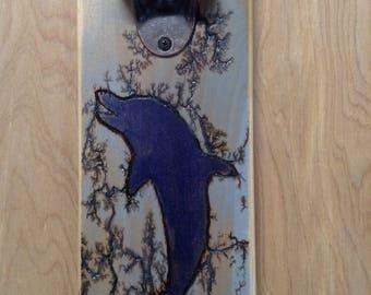 Lichtenberg Dolphin Bottle Opener
