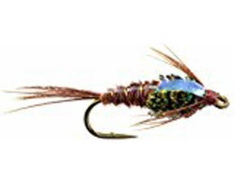 Fly Fishing Flies Flash Back Pheasant Tail Wet Flies-Hand Tied Sizes 12,14,16, 18 Fly Pattern