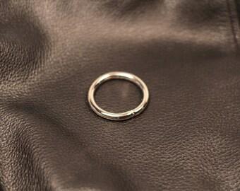 set of 6 Classic bag rings 3.6 cm