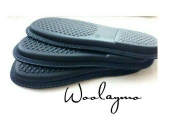 Rubber soles felted shoes Soles for shoes Rubber outsole Black rubber soles Black shoe soles Light soles  Felt shoe sole Rubber shoe sole