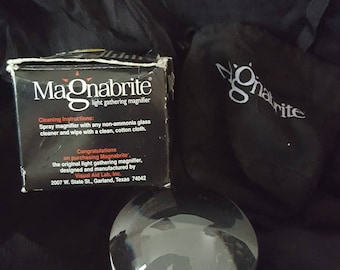 Magnabrite Light Gathering Magnifier
