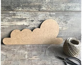 Cloud E blank height 13 cm width 30 cm thickness 3mm