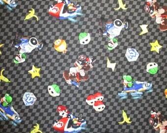Apron for kid / Mario Cart / Mario Bros / Nintendo, apron, kids apron, kitchen apron, kids kitchen apron