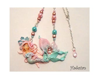 Mermaid - Mermaid - OOAK necklace