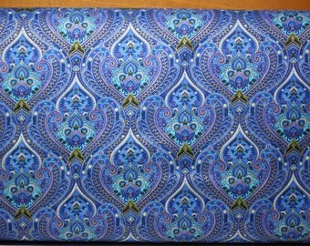 Royalty by Chong-A Hwang for Timeless Treasures.  Can be a companion fabric for Belize panel.