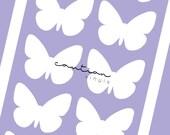Butterfly Stencils | 2 Columns | Swatch Stencils
