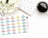 Planner Stickers |Roller Coaster Stickers|Amusement Park Stickers|Carnival Stickers|For use in a wide variety of planners and journals|D069
