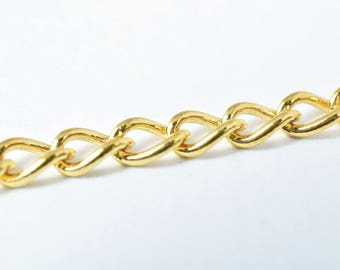 Gold Filled Chain 18K GFC065 Sold by Foot