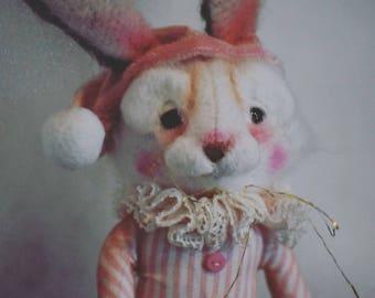 Sleepy bunny made by me.