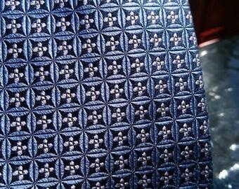 Valentino Blue silk tie