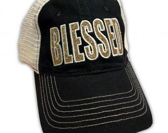 BLESSED GOLD Hat