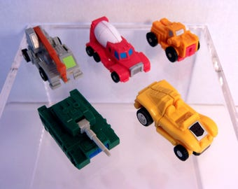Vintage Transformers G1 Micromasters collection lot of 5!