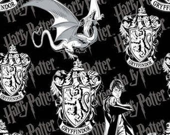 Harry Potter Gryffindor Crest Fabric