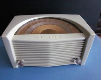 Vintage Tube Radio - AM - 1950 Philco 50-921-1 - Excellent Reception/Sound/Volume