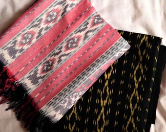 Intan Ikat Throw